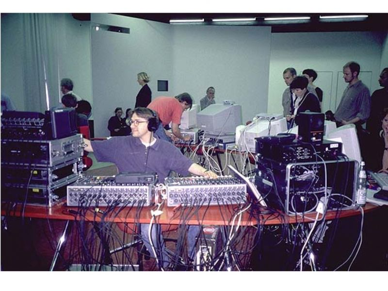 Hybrid WorkSpace at documenta X, 1997