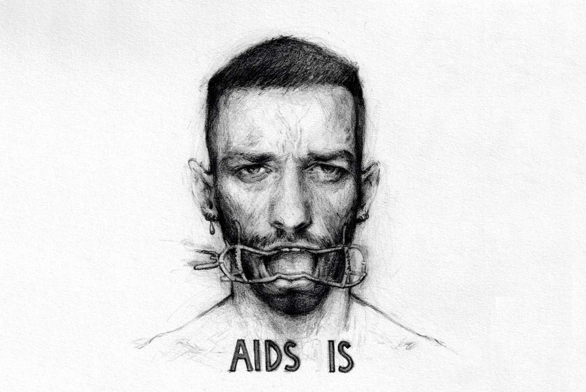 Carlos Motta and Luca Cruz Salvati, AIDS IS, 2019, Courtesy of the Artists.